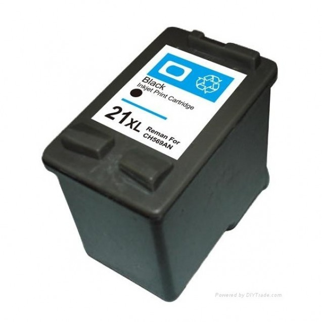 Cartus compatibil inkjet HP no.21 XL Black