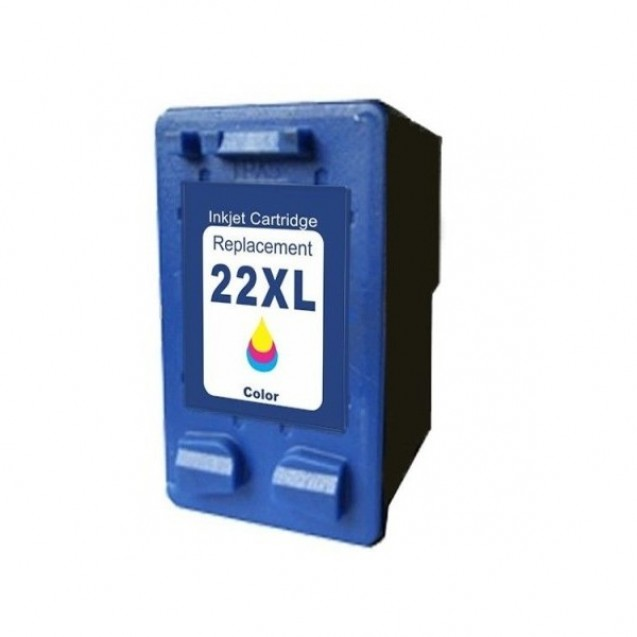 Cartus compatibil inkjet HP no.22 XL Color