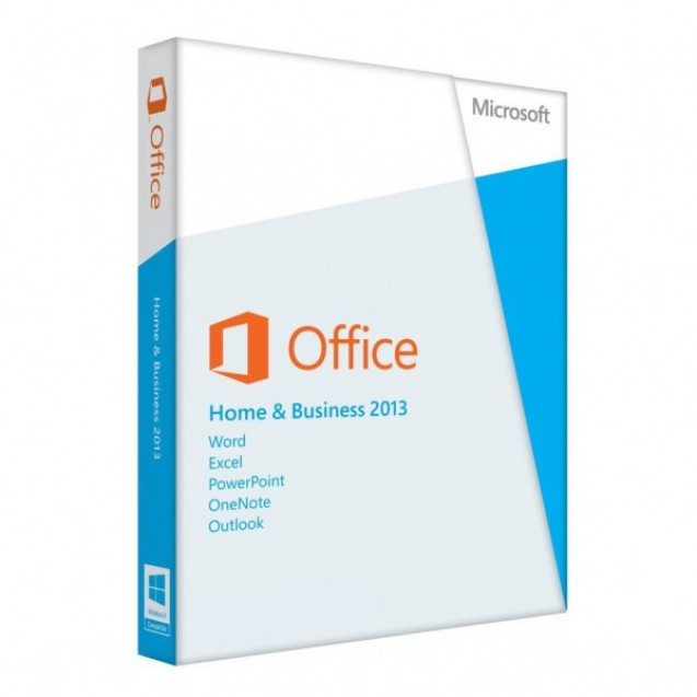 Licenta retail Microsoft Office 2013 Home and Business 2013 32-bit/x64 English Medialess